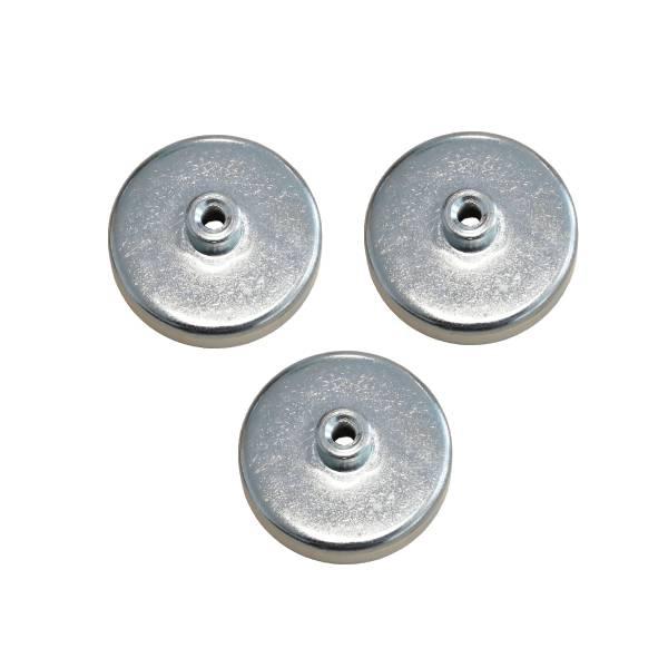 3 aimants Ø 50 mm