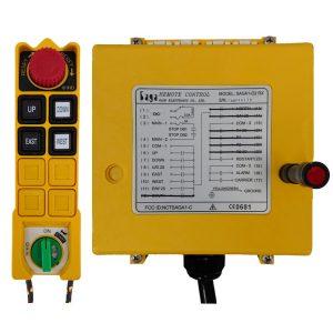 Radiocommande C2-4 • 4 boutons (2 crans)