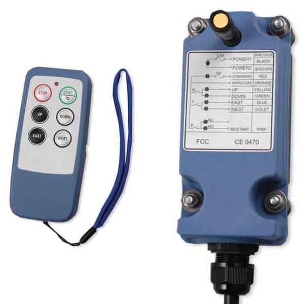 Radiocommande industrielle L6 - 4 boutons (1 cran)