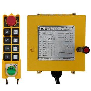 Radiocommande C1 • 8 boutons (1 cran)