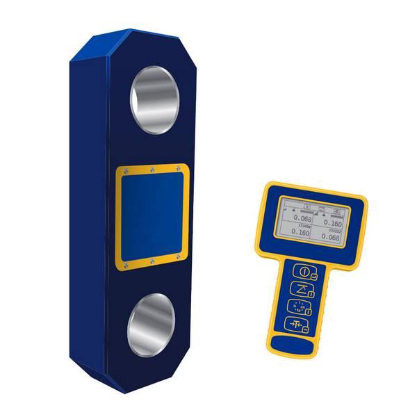 Peson numérique à transmission radio avec mini afficheur   1 t