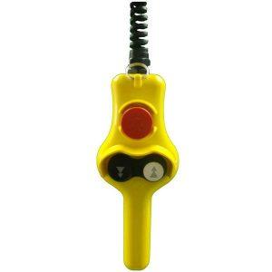 Boîte à boutons 3 boutons (2 crans) avec poignée
