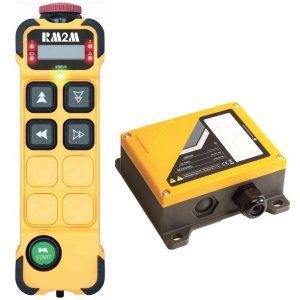 Radiocommande K404 • 4 boutons (2 crans)