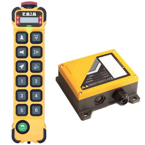 Radiocommande K1212 • 12 boutons (2 crans)