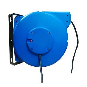 Enrouleur de câble à rappel par ressort • Câble 3G2,5 • 20 m