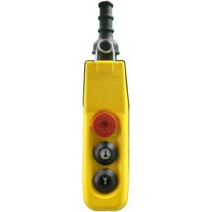 Boîte à boutons 3 boutons (2 crans) pour circuit de commande