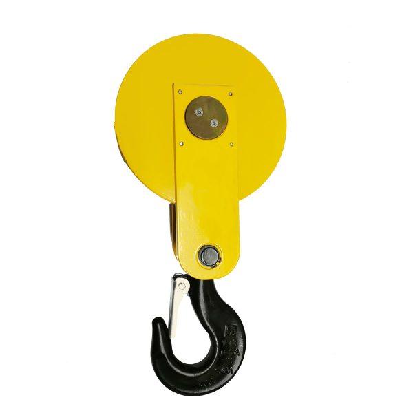 Moufle pour palan 1 réa • Charge 2,5 t (M5) • Pour câble Ø 9-10 mm