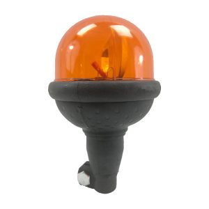 Avertisseur lumineux • Gyrophare compact orange 170 rpm