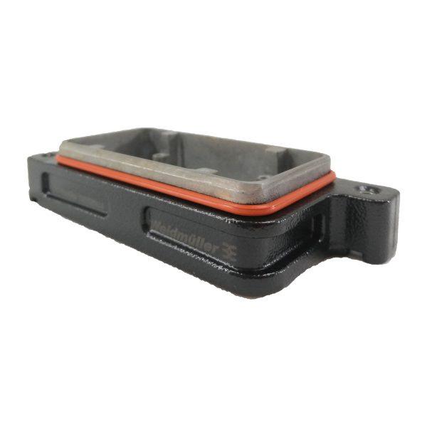 Embase encastrée pour prise 6 broches IP68 • 2 vis • profondeur : 22mm