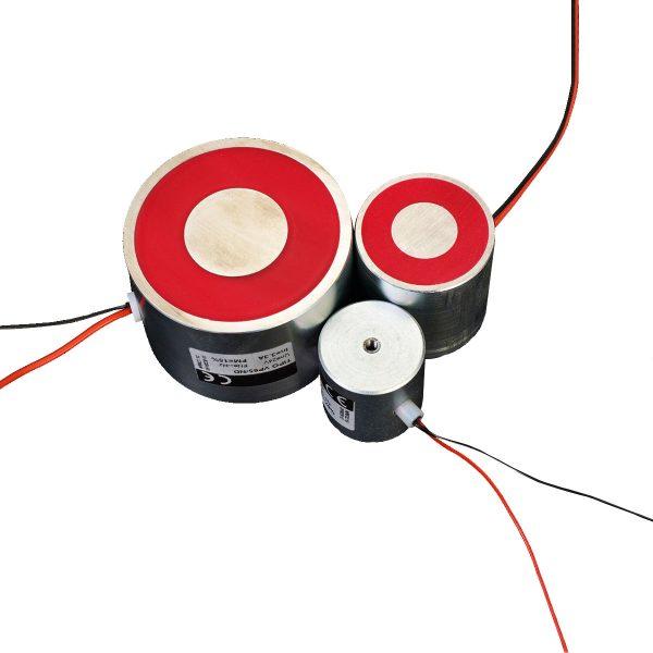 Electroaimant permanent néodyme industriel 42 W – Circulaire Ø40 mm