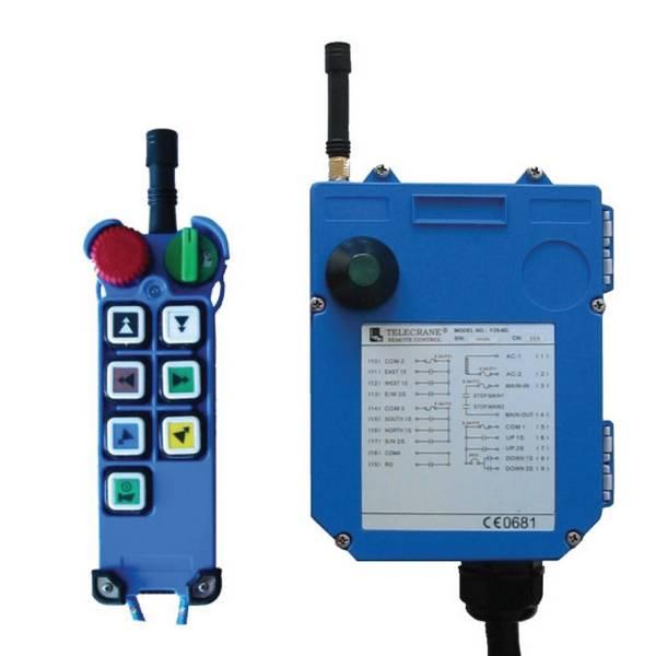 Radiocommande F25- 6D   • (6 boutons 2 crans)