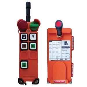 Radiocommande F21-4D – 4 boutons (2 crans)