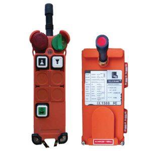 Radiocommande F21-4D-2 – 2 boutons (2 crans)