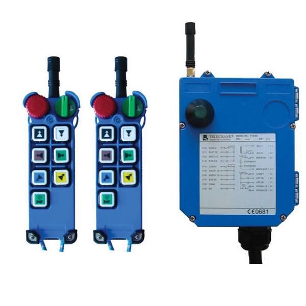 Radiocommande F25-6S - 6 boutons (1 cran) et son ?metteur de secours