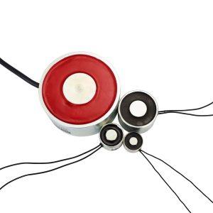 Electroaimant industriel 1,6 W – Circulaire Ø20 mm – 24 VDC