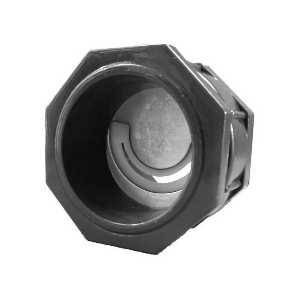 Presse   étoupe • PG29 • Pour câble plat 10×1,5 mm² • demi lune