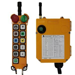 Radiocommande industrielle F24 – 10D • 10 boutons (1 cran)