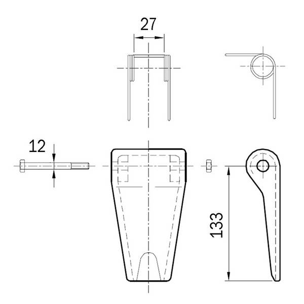 Linguet de sécurité STD-100