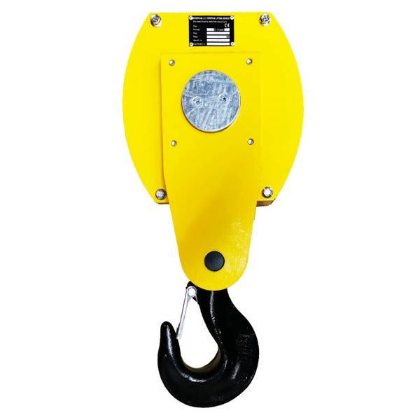 Moufle pour palan 1 réa • Charge 6,3 t (M5) • Pour câble Ø 13-14 mm