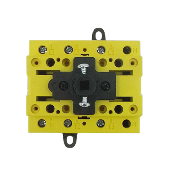 Interrupteur sectionneur 3P + Neutre sans coffret – 80A