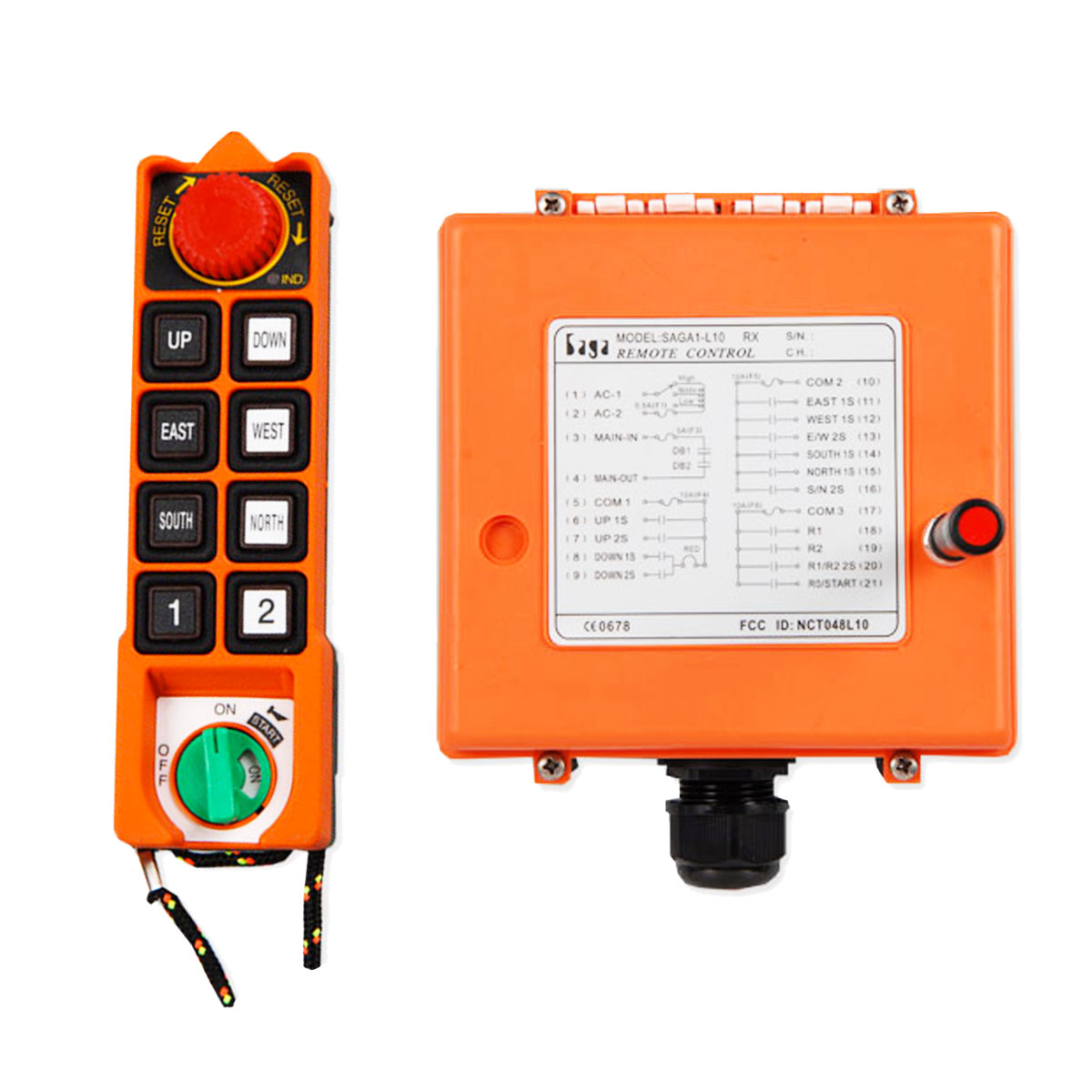 Radiocommande et récepteur Falard L10 et L10-1