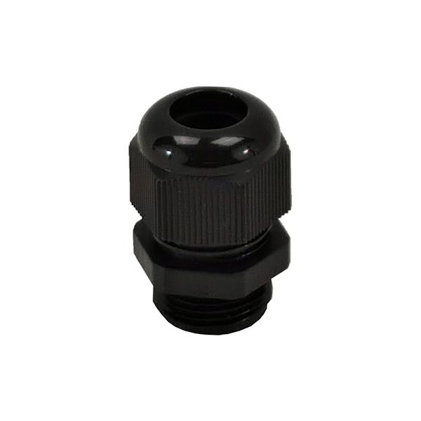 Presse étoupe en polyamide 6 noir • M16 • Pour câble Ø 4 à 8mm
