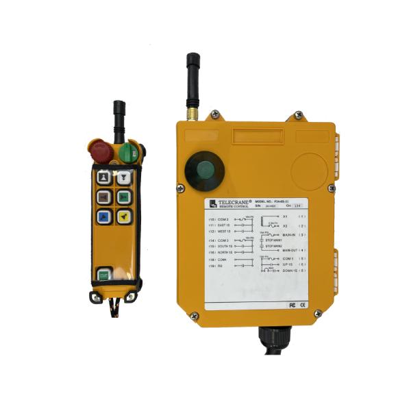 Radiocommande industrielle F24-6S • 6 boutons (1 cran)