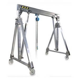 portique de manutention aluminium